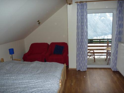 Slaapkamer 2 zolder met balkon